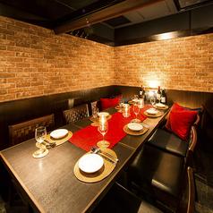和を感じられる個室空間は大事な接待や女子会、合コンにもお使い頂ける贅沢なプライベート空間となっております!ワンランク上のお部屋でお食事をお楽しみ下さい。