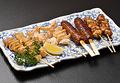 料理メニュー写真串焼きセット (6種)