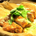料理メニュー写真ピーチポークのカツレツ