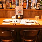 雰囲気のあるカウンター席はデート・記念日などカップルでのご利用にも人気です★サプライズなどお気軽にご相談下さい!