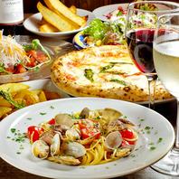 信州産食材を活かしたイタリアン。コースでも楽しめる。