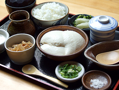 寄せ豆腐膳