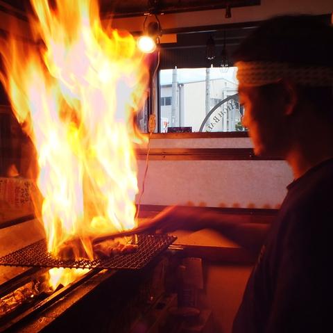 噂の焼き鳥【銀八】!本格炭火で焼き上げる、大山鶏を使った焼き鳥が絶品★