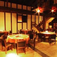 貸切り専用スペース。旧酒蔵「源三屋」