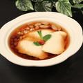 料理メニュー写真手造り豆花の黒糖シロップ