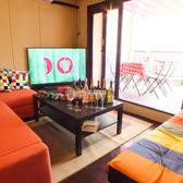 【4F】お家感覚でお使い頂けるソファー個室。ゲーム・テレビ・プロジェクター完備なので女子会や合コンにオススメ。