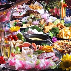 Party Space ARASHI アラシのコース写真