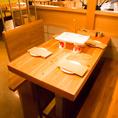 美味しい食事と楽しいお酒を、友人と語らいながらゆっくり堪能できる場所。貸切はご相談ください♪