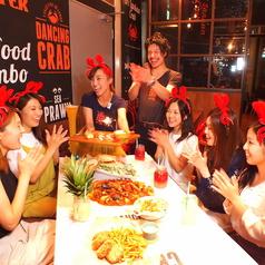 DANCING CRAB ダンシングクラブ グランフロント大阪店の雰囲気1