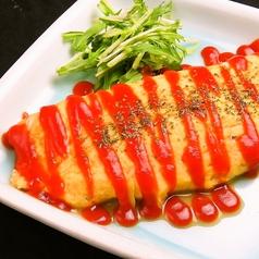 居酒屋のチーズオムレツ/とん平焼き