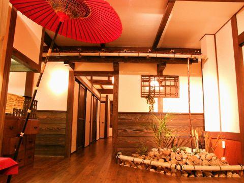 京町家の情緒溢れる雰囲気と華やかな料理でおもてなし…♪品数豊富なコースは大満足★