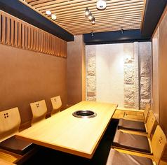 落ち着いた和の空間でお食事をお楽しみください。