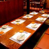 8名様のテーブル席もご用意可能です!