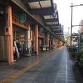 【道順1】水戸駅北口をまっすぐ進んで南町まで来ると、文房具屋さんが左手にあります。