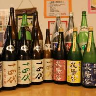 【日本酒の種類が豊富!各種イベントも開催!】