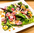 料理メニュー写真鎌倉野菜のサラダ(※入荷時のみ)