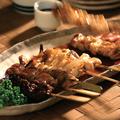 料理メニュー写真串焼き盛り合わせ (小5本)