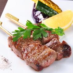 料理メニュー写真和牛の串焼き