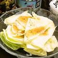 料理メニュー写真塩ダレキャベツ/ゴーヤサラダ