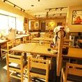 【大井町】広い空間でのテーブル席★人数様に合わせたお席をご用意致します!ご宴会やママ会にも◎お気軽にご相談くださいませ!