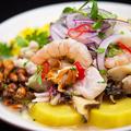 料理メニュー写真魚介のセビーチェ