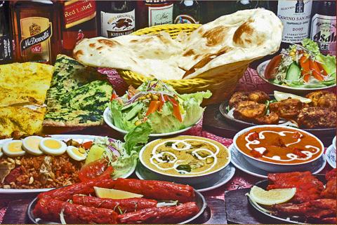 インド料理 ドルーガ