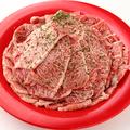 料理メニュー写真プレミアムカルビ(加工肉) ※ディナーのみ
