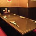 掘り炬燵式テーブルでお食事をどうぞ!【相模大野 個室 居酒屋 海鮮 飲み放題】