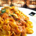 料理メニュー写真ウニのトマトクリームソース