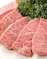 料理メニュー写真上タン塩/上ミノ/上カルビ