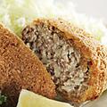 料理メニュー写真昭和のメンチカツ お肉屋さん仕込み