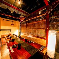 最大120名様まで個室をご用意♪新宿での貸切宴会も◎