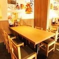 【大井町】簡単に席替えできるテーブル席!急な人数変更も柔軟に対応致します♪4人でまったり、6人でもどうぞ!<焼き鳥/居酒屋/宴会>