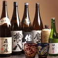 お好みの味などお気軽にスタッフにお声掛けください!お料理に合わせてセレクトした日本酒や焼酎をおすすめさせて頂きます!焼き鳥とお刺身との相性もぴったり♪