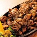 料理メニュー写真宮崎妻地鶏の炭火焼き(200g)