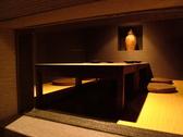 雰囲気の良い個室はプライベートやオフィシャルな宴会にもお勧め。