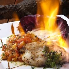 料理メニュー写真ワニのステーキ