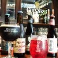 世界のビールが約10種類!ビアガーデンにも負けない美味しいビールをご用意しております!!
