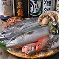 新鮮鮮魚と日本酒♪