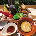 料理メニュー写真野菜畑の特製バーニャカウダセット/ドリンク付
