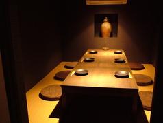 接待や大切な宴会にも最適。完全個室をご用意。