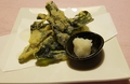 料理メニュー写真鳴門わかめの天ぷら