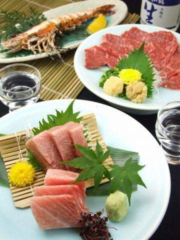 新宿歌舞伎町に40余年の老舗大衆割烹。新鮮魚介の炭火焼など自慢の料理を是非どうぞ!