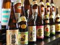 5000円以上の飲放付きコースご予約で新潟の地酒5種飲放!!