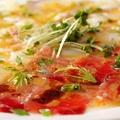 料理メニュー写真築地直送鮮魚のカルパッチョ(単品)