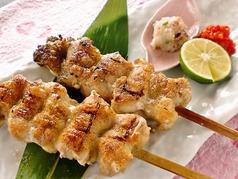薩摩鶏の串焼き