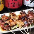 料理メニュー写真串特盛り(5本)