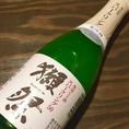 獺祭スパークリング/ボトル3000円(性別)