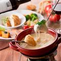 料理メニュー写真【人気メニュー】期間限定!オリジナルチーズフォンデュ