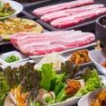 【サムギョプサル祭りコース】★10品食べ放題!1980円~